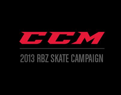 CCM - 2013 RBZ skate - Freakishly Fast campaign