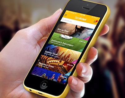 Spoticket App Design