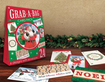 Grab-A-Bag Christmas Card Pack