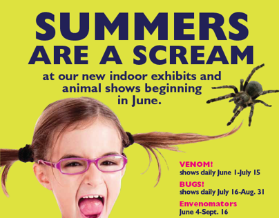 Summers are a Screams Marketing and AdCampaign