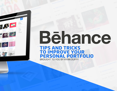 Behance - Tips for a successful portfolio