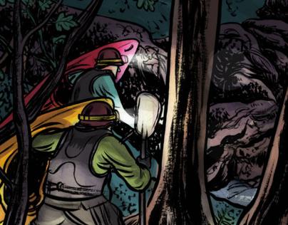 Illustration for Canoe & Kayak Magazine