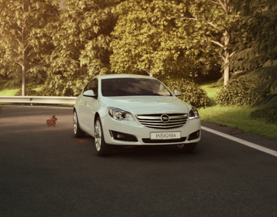 Opel Insignia - Virtual Showroom