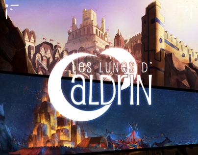 Les lunes dAldrin - Background concept
