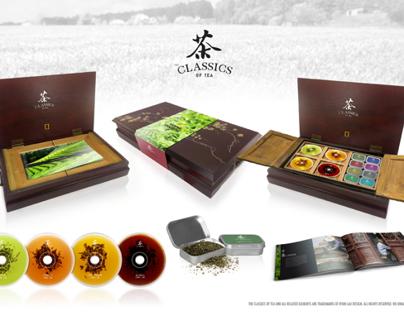 Tea Documentary DVD Package Design