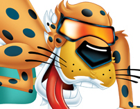 Chester Cheetah Illustrations