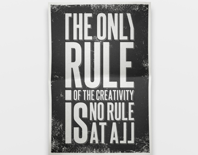 The Rule Of The Creativity