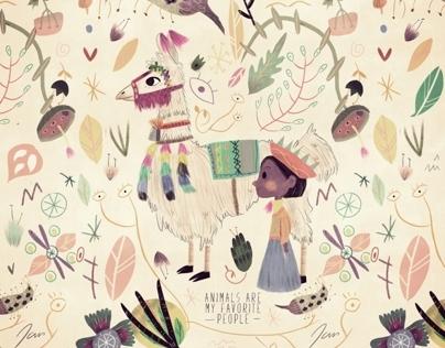 Illustrations for Poolga