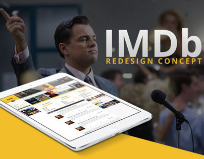 IMDB Redesign Concept - With PSD