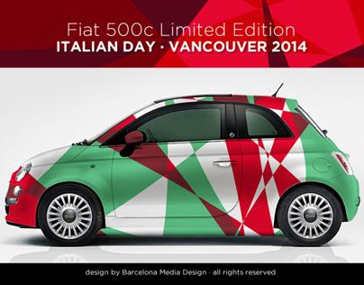 Barcelona Media Design / Fiat 500c Italian Day 2014