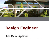 Monster Job Posting Web Page Template for Hitachi GST