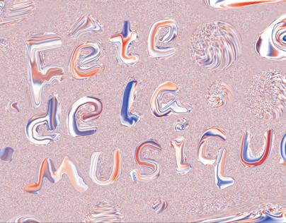 Fête de la Musique Poster