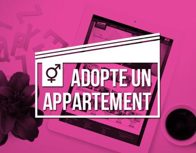Adopte un appartement