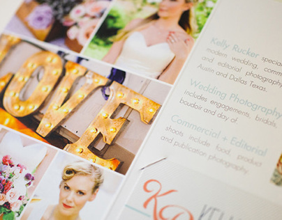 Marketing Pamphlet | Kelly Rucker Photography