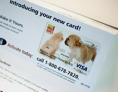 Credit Card Design | Austin Pets Alive!