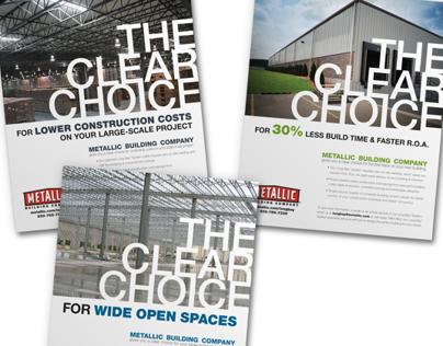 Metallic Clear Choice Print Campaign