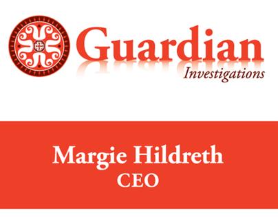 Guardian Investigators - Business Cards