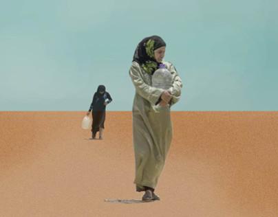 Al Zaatari Camp- The Desert as a Refuge- Part 1