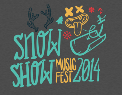 SnowShow event tees