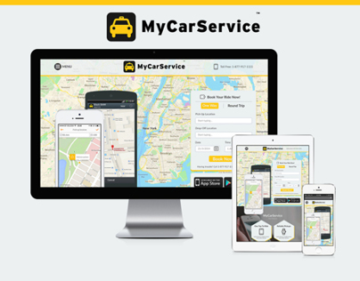 MyCarService Website Design