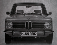 BMW 2002 Tribute poster