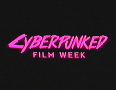 Cyberpunked Electronic Poster