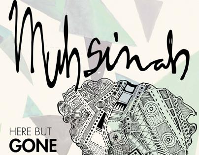 Here but Gone Muhsinah Tour Poster