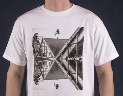 MERRIT BRAD SIMMS T-SHIRT PRINT