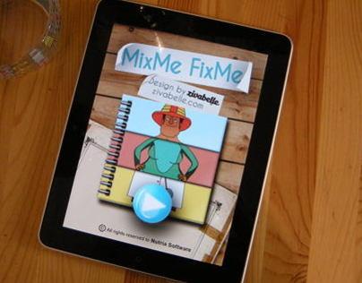 Mix me Fix me - Smartphone App.