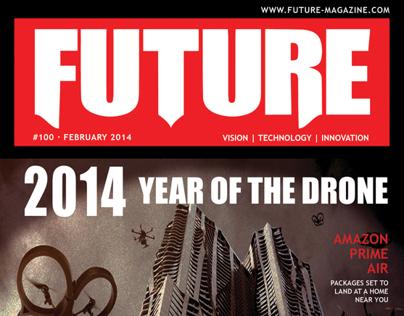 Future-Magazine | Cover and Spreads
