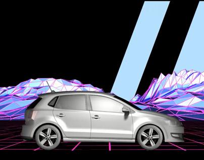 Videomapping Volkswagen