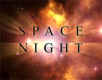 SPACE NIGHT TITLE - AFTER EFFECTS TEMPLATE