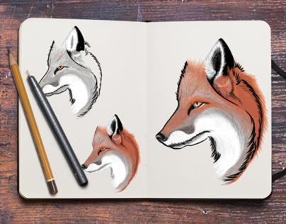 Red Fox - Tattoo