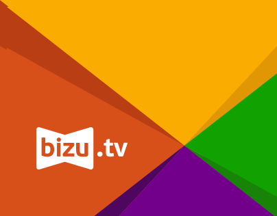 Bizu.tv branding and web design