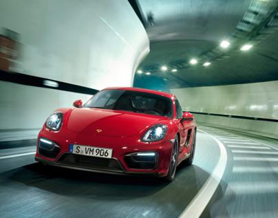 Porsche Cayman GTS Catalog 2014