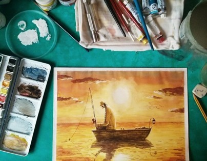Watercolor Paintings 2013