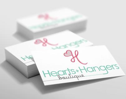 Heart & Hangers Logo & Stationery