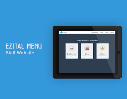 Ezital Menu - Staff Site