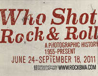 Who Shot Rock & Roll Poster Campaign