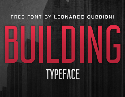 BUILDING | Free Font
