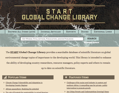 Global Change Library | START