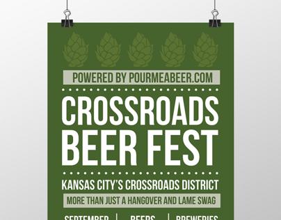 Crossroads Beer Fest - Poster Series