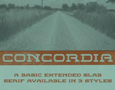 Concordia Typeface