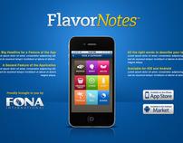Flavor Notes - iPad & iPhone