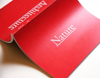 Flux Magazine Issue 1: Nature—Architecture