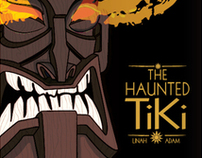 The Haunted Tiki (Book Cover Design)