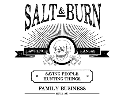Salt & Burn - The CWs Supernatural Design Challenge