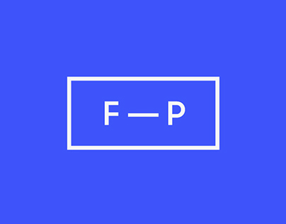 FP — Designer · Identity and Web site.