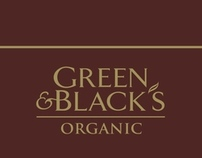 Green & Blacks Posters
