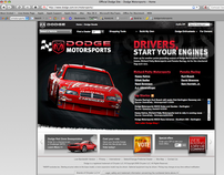 Dodge Motorsports Website